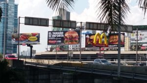 Fast food in Panama