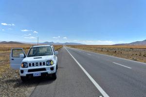 Traffic Bolivia Bolivien self driving selbst fahren rental car