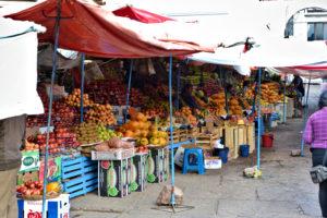 Market Sucre Bolivia Bolivien Markt