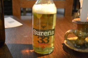 Bolivian Beer in Cuenca, Boliva Kulturkaffee Sucre Bolivien