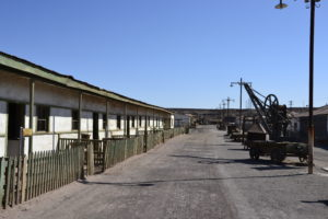Santa Laura and Humberstone near Iquique in Chile