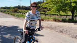 Bicycle tour through Montgras in Santa Cruz