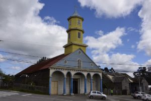 Wooden churches on Chiloe in Chile