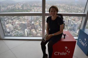 Saskia Hohe in Chile de Santiago de Chlle