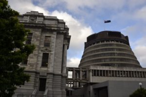 parliament bee hive Wellington, New Zealand