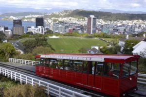 cable car Wellington, New Zealand