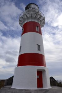 Lighthouse at Cape Palliser New Zealand