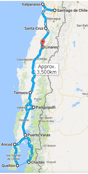 route_central_south_chile