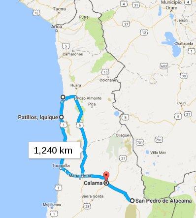 route_north_chile