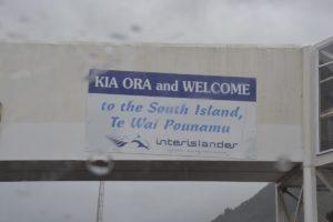 South Island New Zealand Kia Ora Welcome
