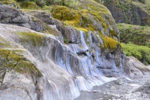 Glaciers in Te Wahipounamu Franz Josef Glacier in New Zealand