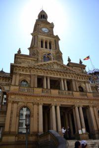 Town-hall of Sydney Australia
