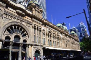 Queen Victoria shopping center in Sydney Australia