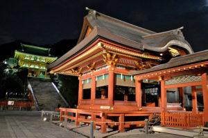 Tsurugaoka Hachiman-gu Kamakura Japan