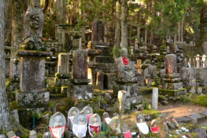 Koyasan cemetry Japan UNESCO world heritage Kii