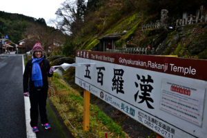 Saskia Hohe in Iwami Ginzan UNESCO World Heritage Japan