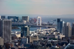 Aussicht View from Tokyo Tower - Best travel tips for Japan