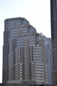 Shinjuku Skyscraper in Tokyo Hochhäuser