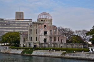 Hiroshima, Hypo-center dome Genbaku dome UNESCO World Heritage Japan