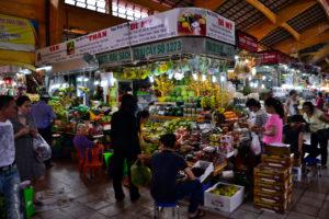 Central Market Ho-Chi-Minh Saigon Vietnam