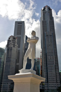 Sir Raffles at Clark Quay Boat Quay Singapore