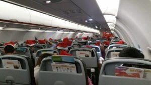 Jetstar flight from Osaka to Singapore