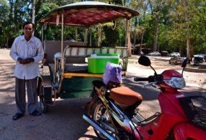 Mister Fi Tuk Tuk Angkor Wat Siem Reap Cambodia Kambodscha - Cambodia Travel Tips