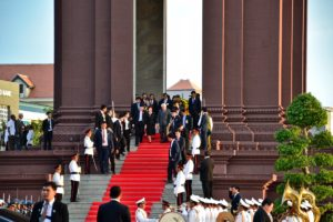 Singapore's President visiting Phnom Phen - Cambodia Travel Tips