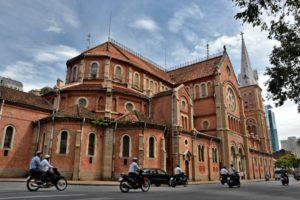 Notre Dame in Ho-Chi-Minh-City / Saigon vietnam