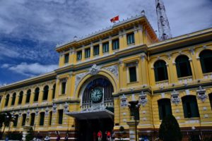 Post Office in Ho-Chi-Minh-City / Saigon Vietnam