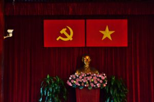 Reunification Palace in Ho-Chi-Minh-City / Saigon Vietnam