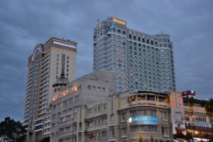 Skyscrapers in Ho-Chi-Minh-City / Saigon Vietnam