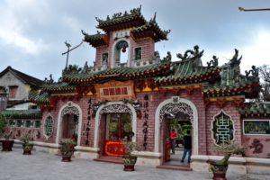 Japanese bridge in Hoi An Vietnam UNESCO World Heritage