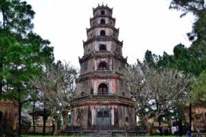 Thien Mu Pagode near Hue Vietnam