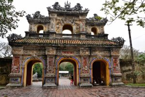 Old Citadel in Hue - the ancient capital UNESCO World Heritage