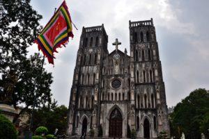 St Joseph Cathedral in Hanoi Vietnam
