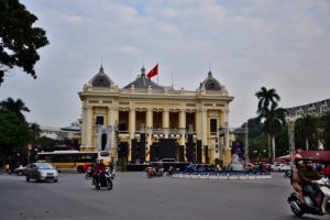 Opera in Hanoi (Colonial era house) Vietnam