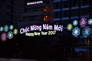 Burning money in the streets of Hanoi Vietnam