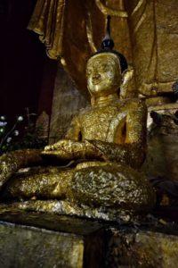 Buddhas in Bagan in Myanmar Burma