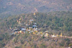 View from Mount Popa Myanmar Burma