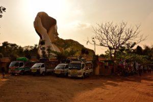 Shwethalyaung Pagode Bago Myanmar Burma