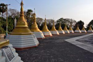 Shwemawdaw Pagoda Bago Myanmar Burma