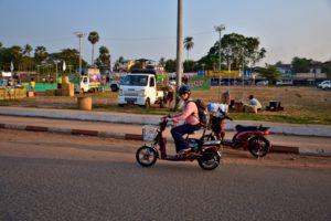Saskia Hohe ebike Bago Myanmar Burma