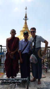 Paul Golden Rock Kinpun Myanmar Burma