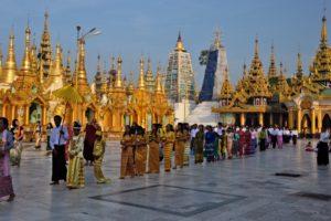 Shwedagon pagode yangon Myanmar Burma