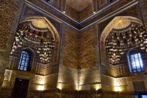 Amir Timurs mausoleum in Samarkand Uzbekistan