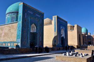 Shah-i Zinda in Samarkand Uzbekistan