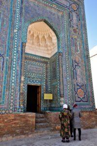 Bibi Khaoum mosque Samarkand Uzbekistan