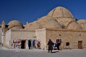 Covered markets in Buchara Uzbekistan