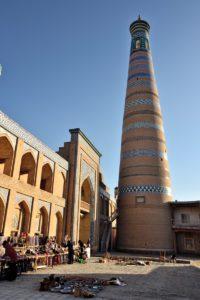 Historic center of Khiva Uzbekistan